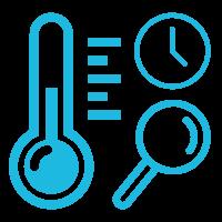 Live temperature monitoring